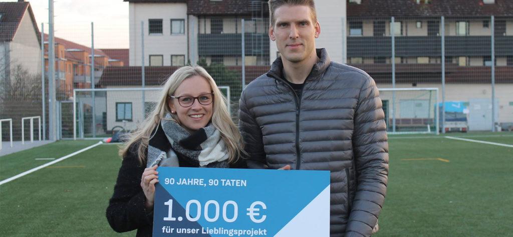 Wohnbaugruppe Augsburg spendet für ISH